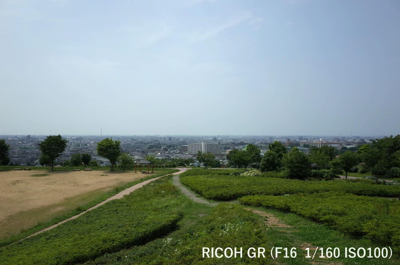 金沢市一望 大乗寺公園 RICOH GR