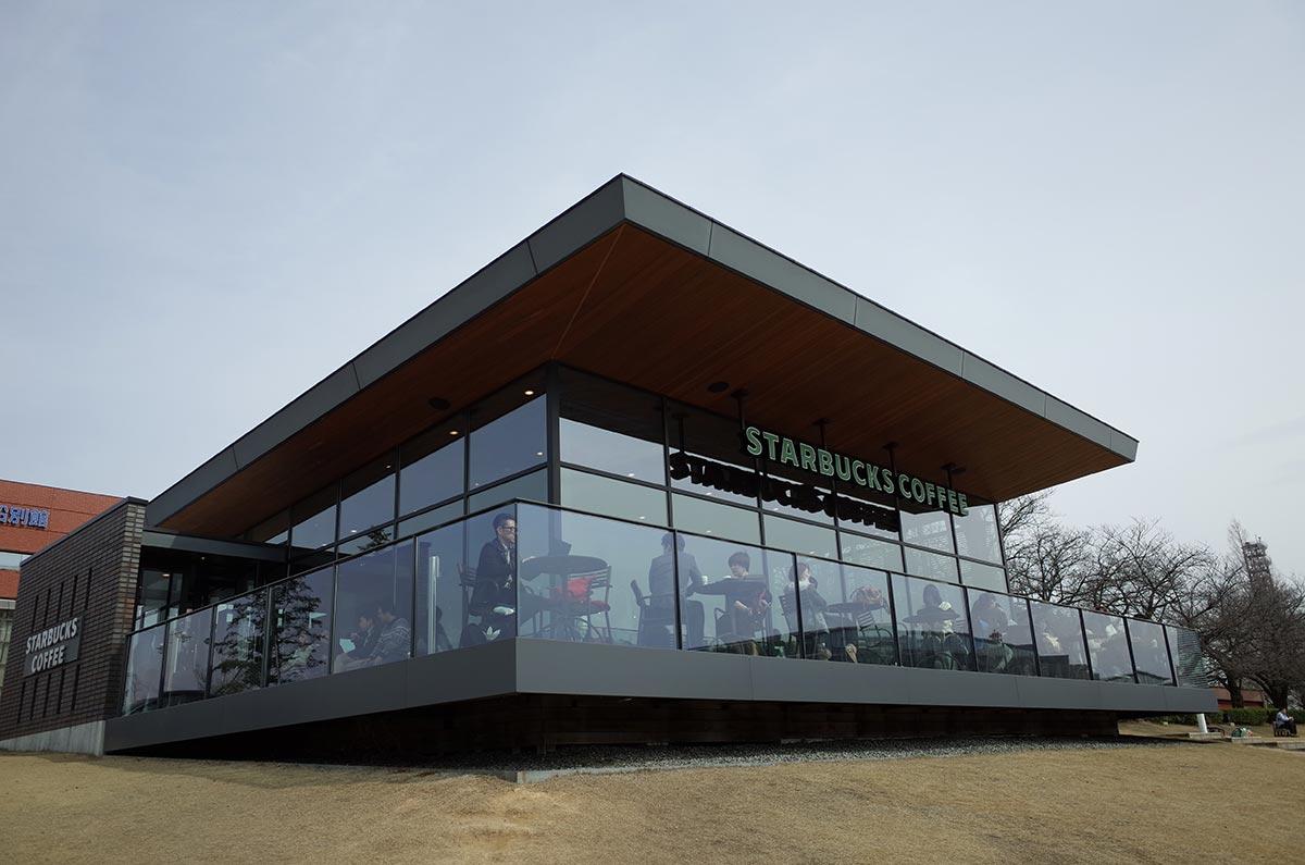 スタバ環水公園店