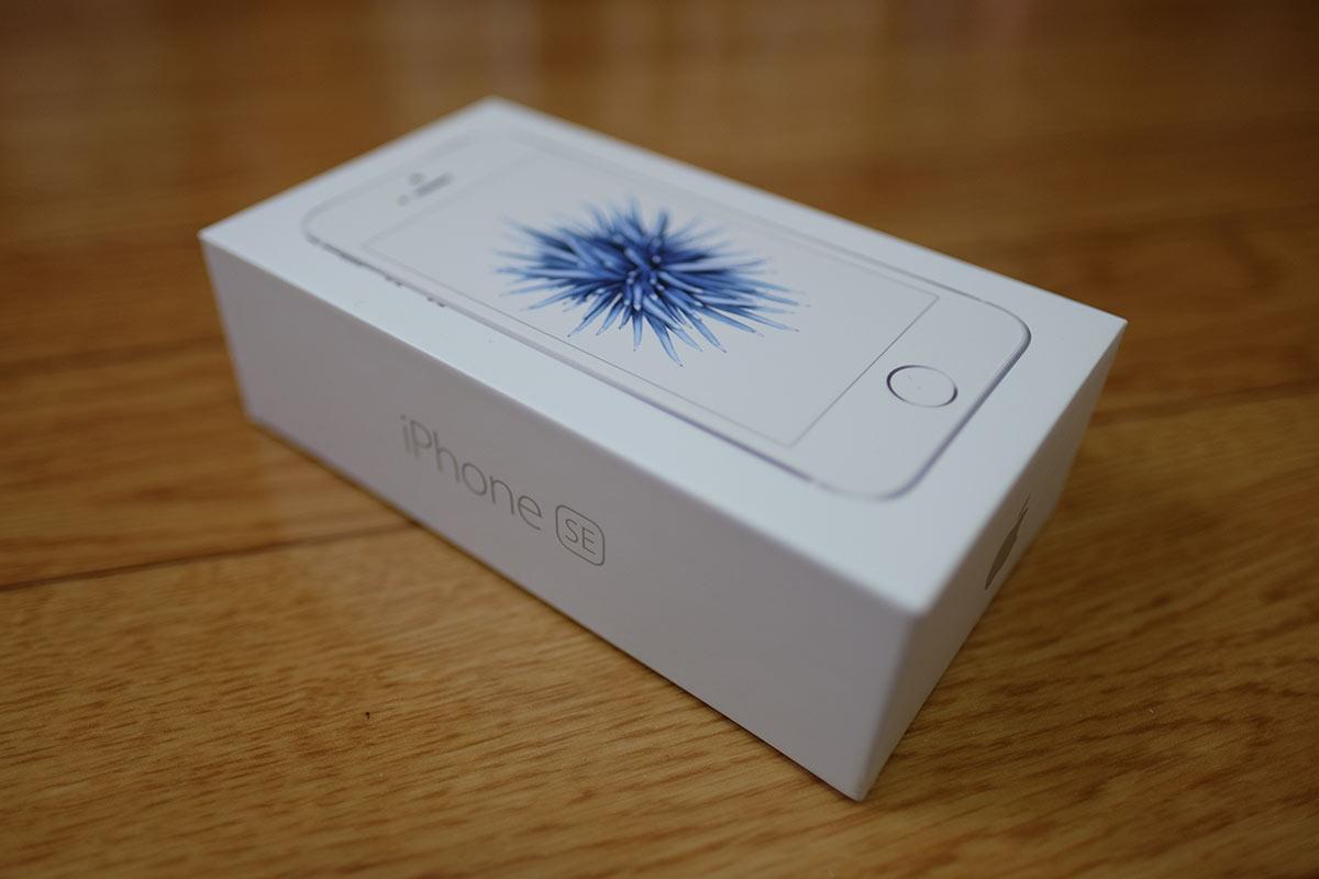 iPhone SE 箱