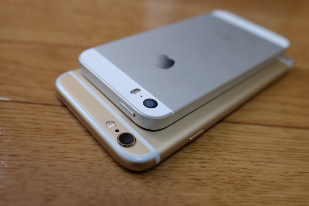 iPhone 6sとiPhone SE カメラ
