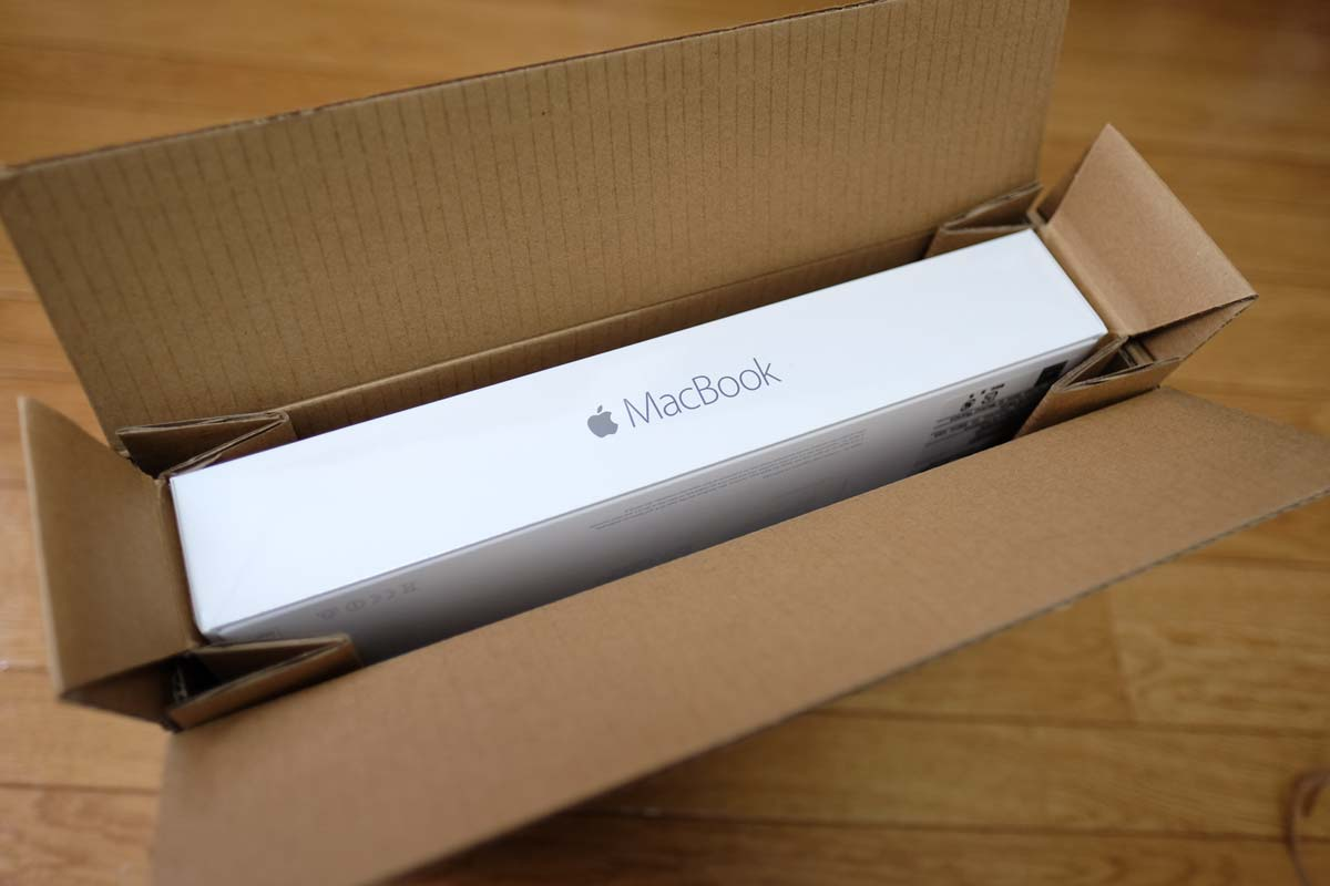 MacBook 12 パッケージ