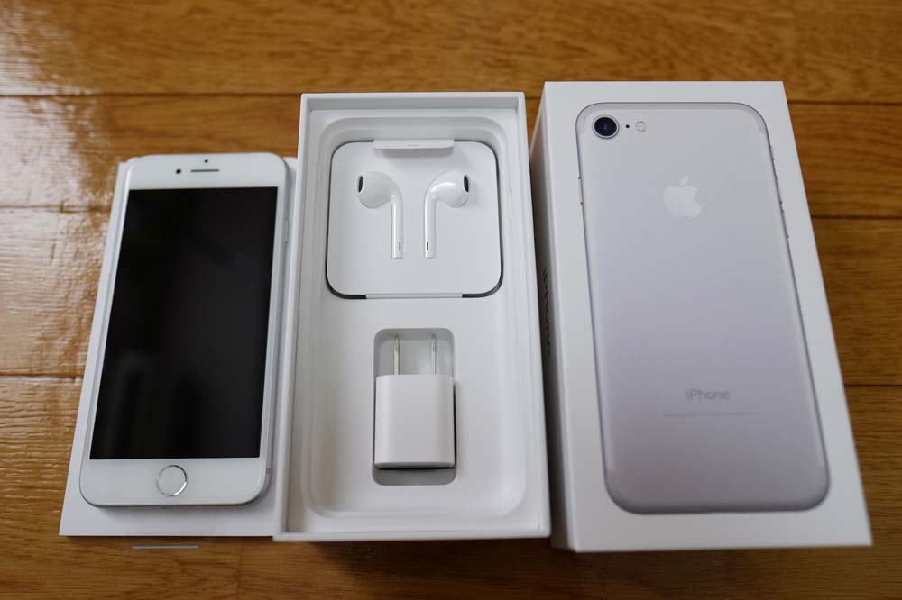 iPhone7の付属品