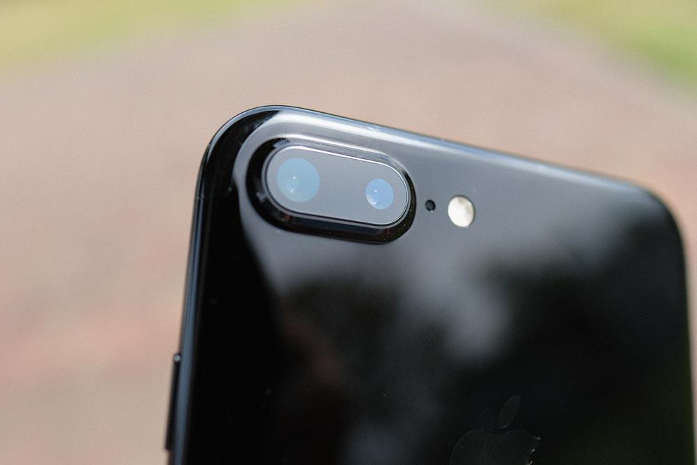 iPhone7 Plus デュアルカメラレンズ