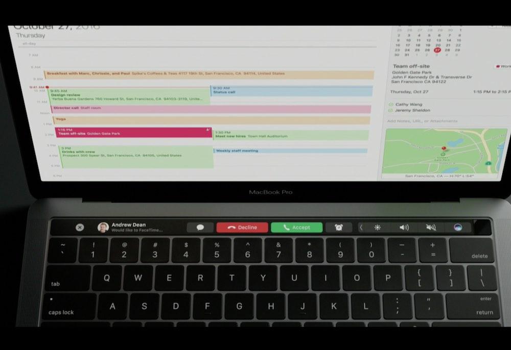 MacBook Pro 2016 電話
