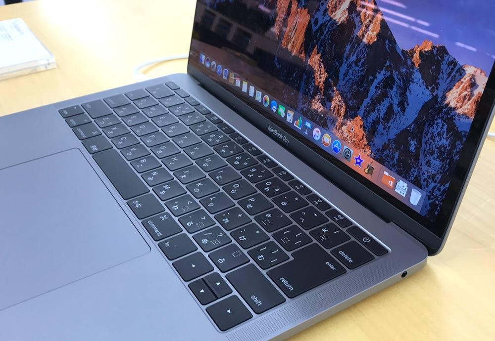 13インチ MacBook Pro 2016 右側