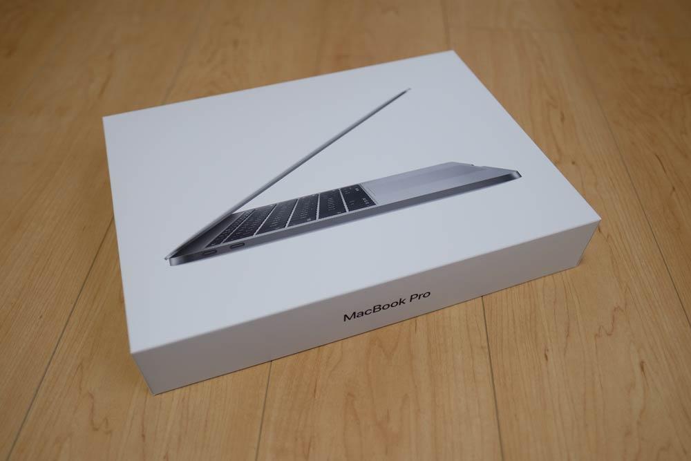 MacBook Pro 13 開封