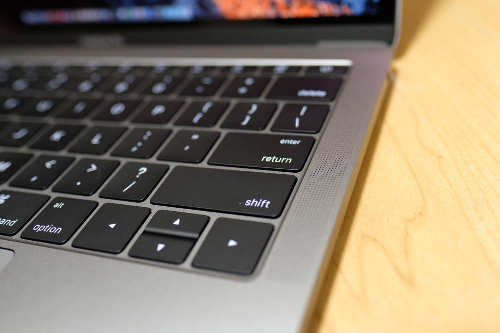 13インチMacBook Pro 2016のスピーカー
