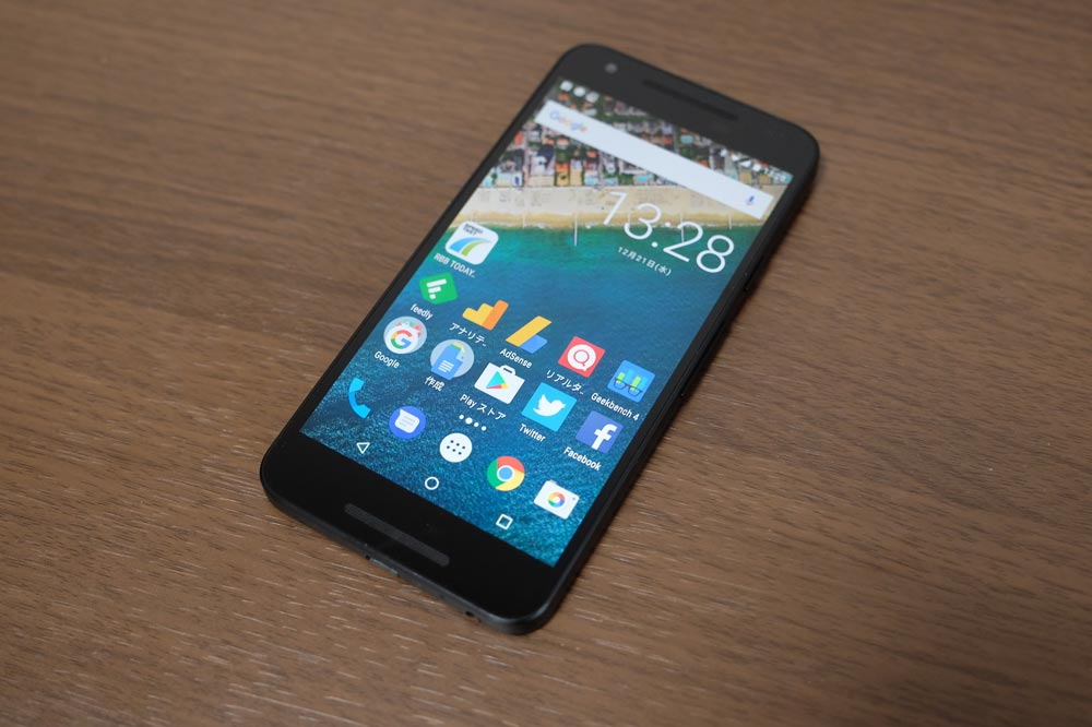 Google Nexus5x 表面