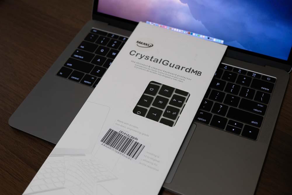 MaxKuのMacBook Pro 13インチ 2016 Touch Bar非搭載モデル専用 キーボード防塵カバー