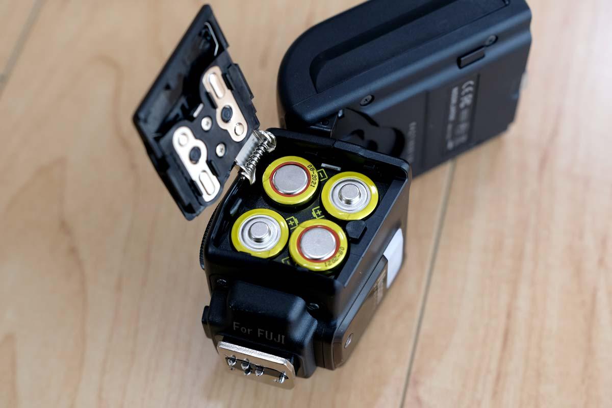 Nissin i40 単三電池