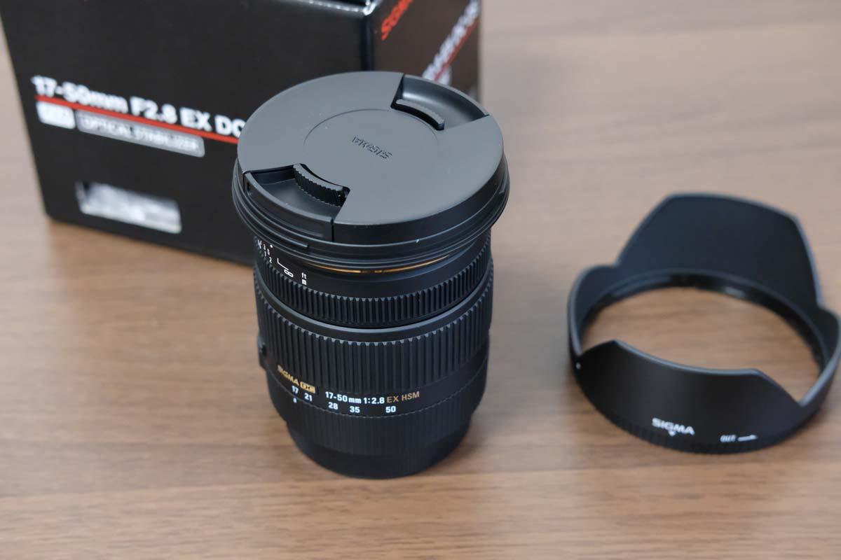 SIGMA 17-50mm F2.8 EX DC OS HSM レンズ本体