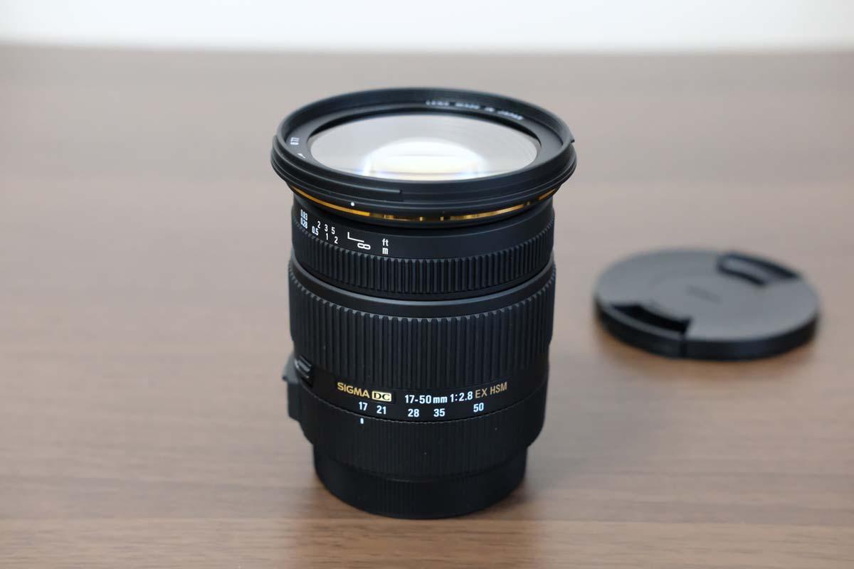 SIGMA 17-50mm F2.8 EX DC OS HSM 広角側