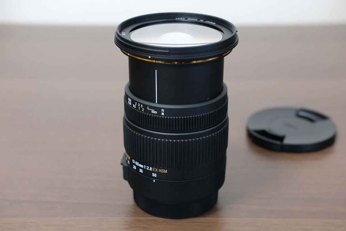 SIGMA 17-50mm F2.8 EX DC OS HSM 望遠側