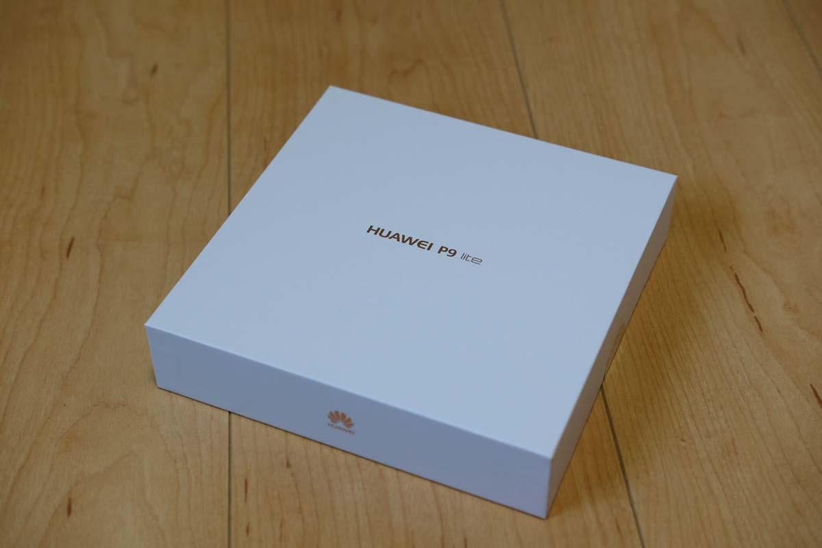 P9 liteの箱
