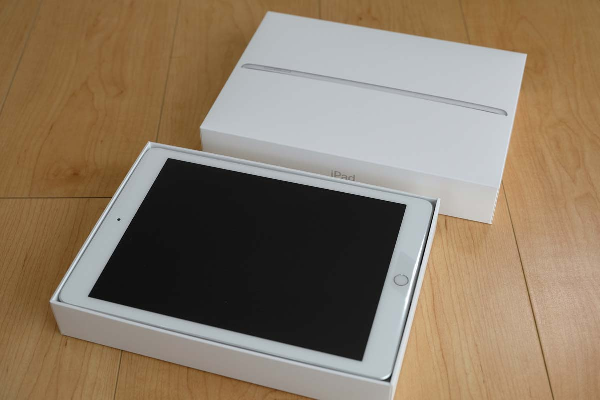 iPad(第5世代)開封