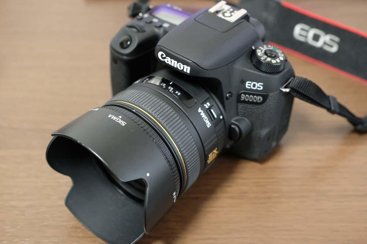 Canon EOS 9000DとSIGMA 30mm F1.4