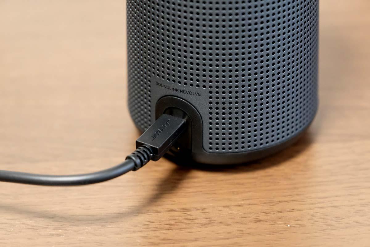 SoundLink Revolve 充電