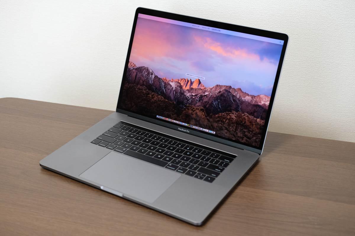 15インチMacBook Pro 2016