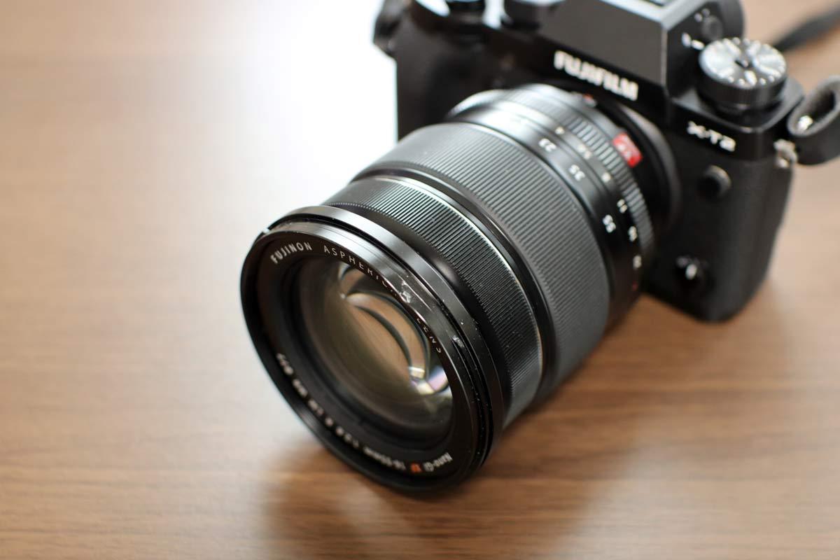 X-T2とXF16-55mmF2.8 R LM WR
