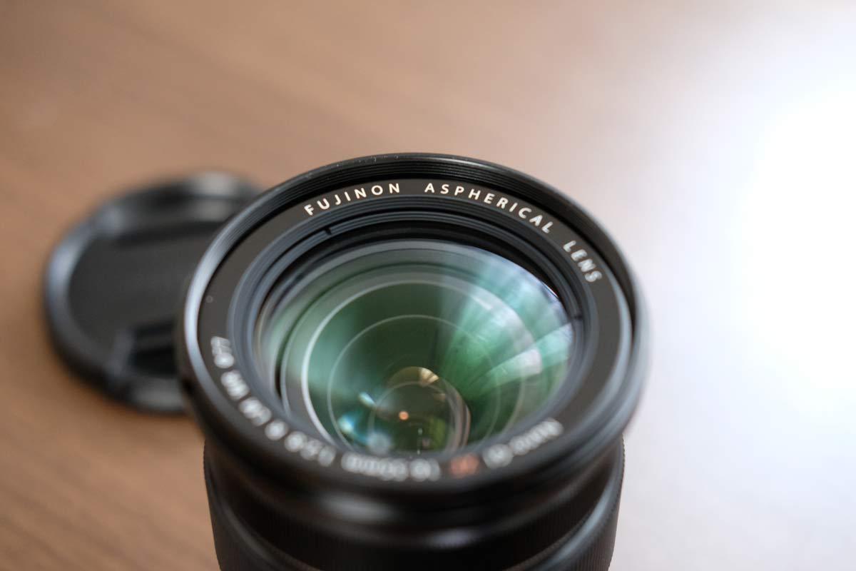 XF16-55mmF2.8 R LM WR レンズ部分