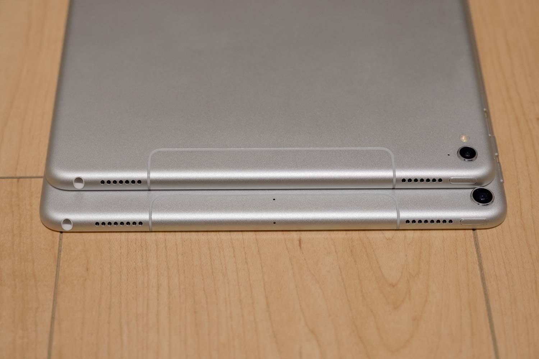 iPad Pro 10.5とiPad Pro 9.7 スピーカー比較1
