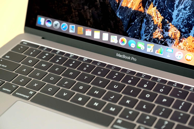 13インチMacBook Pro 2017 キーボード
