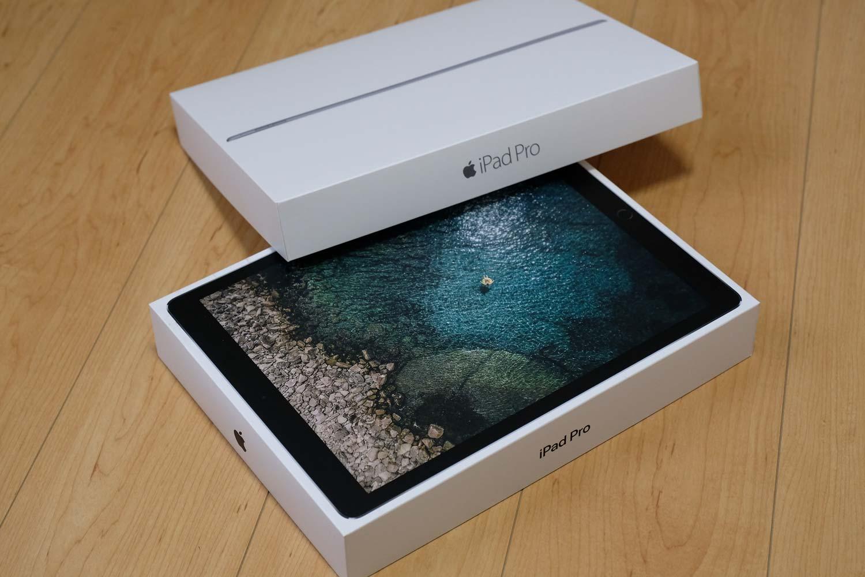 iPad Pro 12.9(第2世代)と(第1世代)パッケージ比較