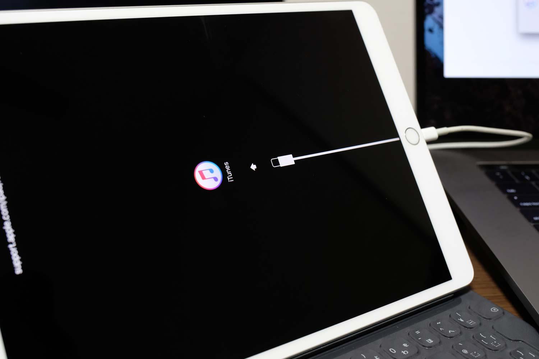 iPadをリカバリモードで起動する