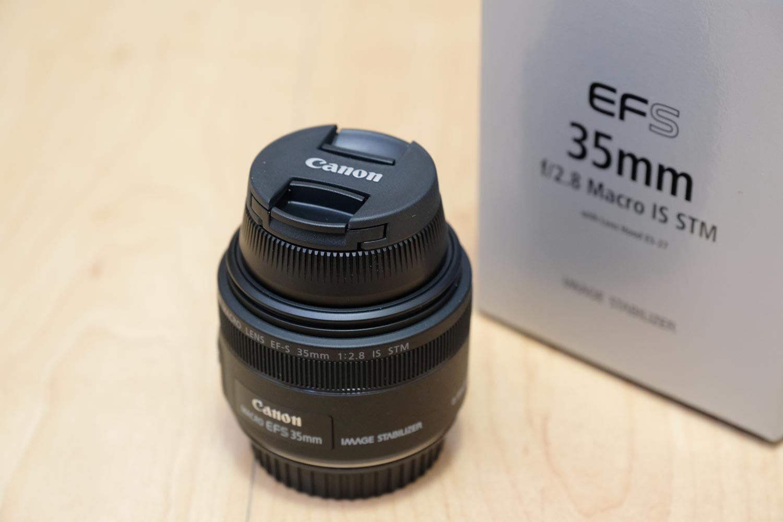 EF-S35mm F2.8 マクロ IS STM レンズキャップ