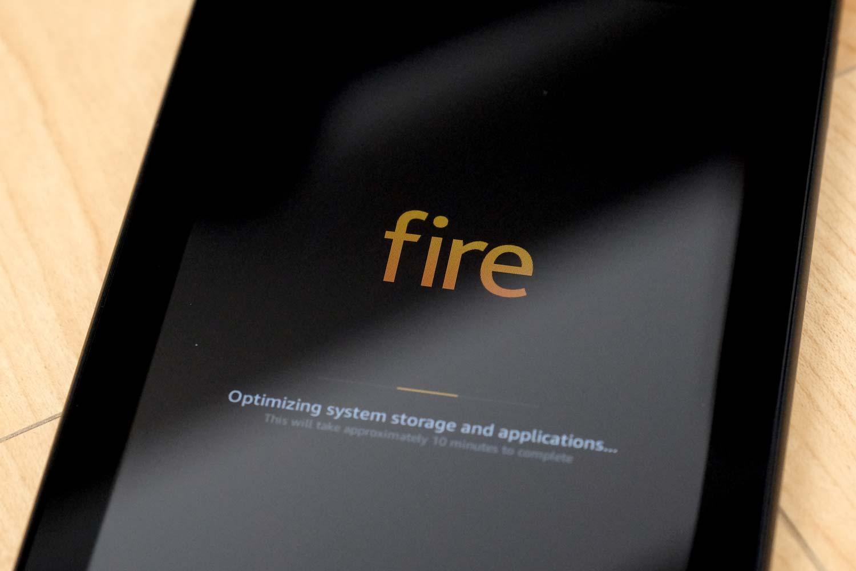 Fire 7 起動
