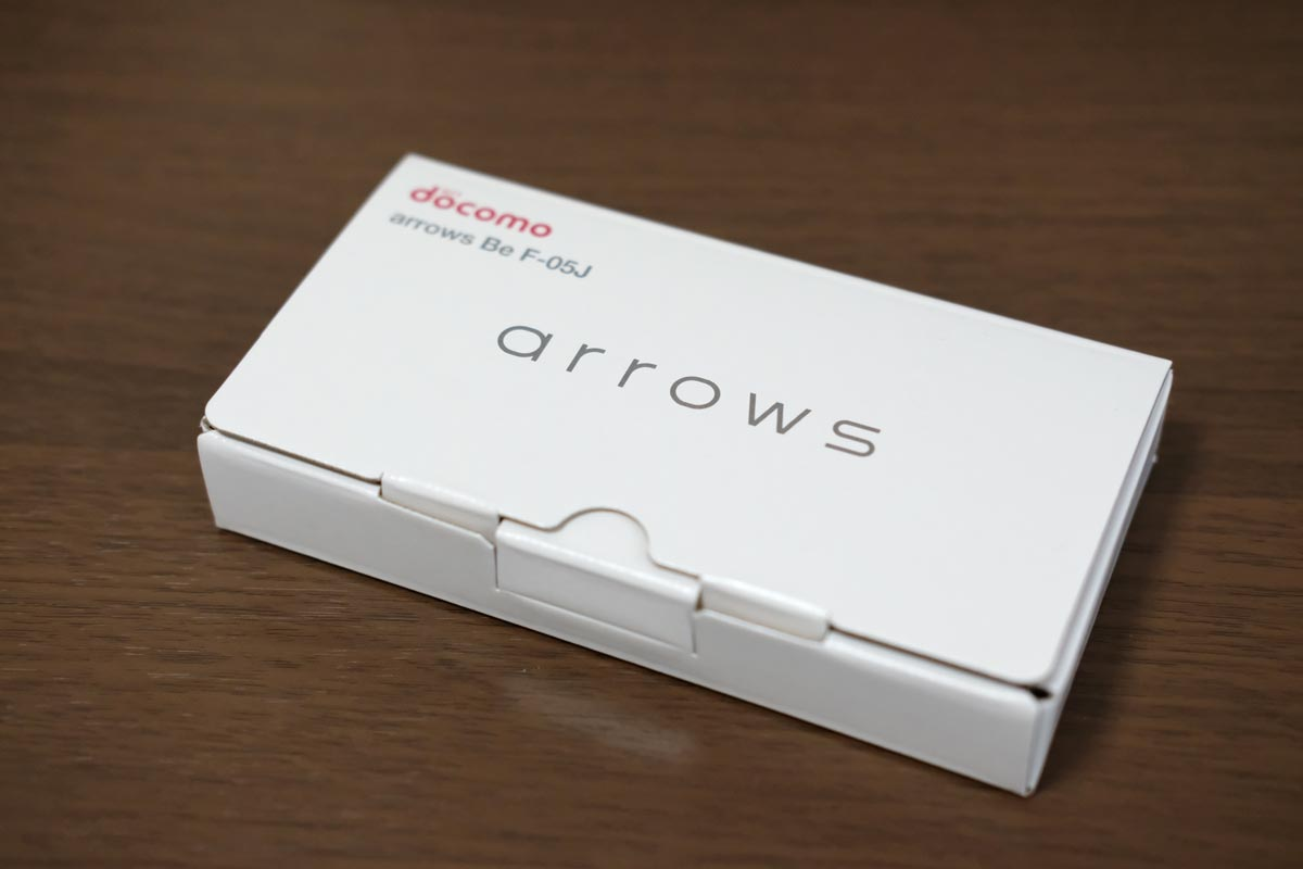 arrows Be F-05J パッケージ