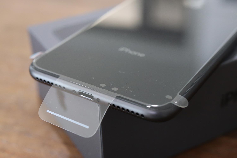 iPhone 8 Plusの保護フィルム