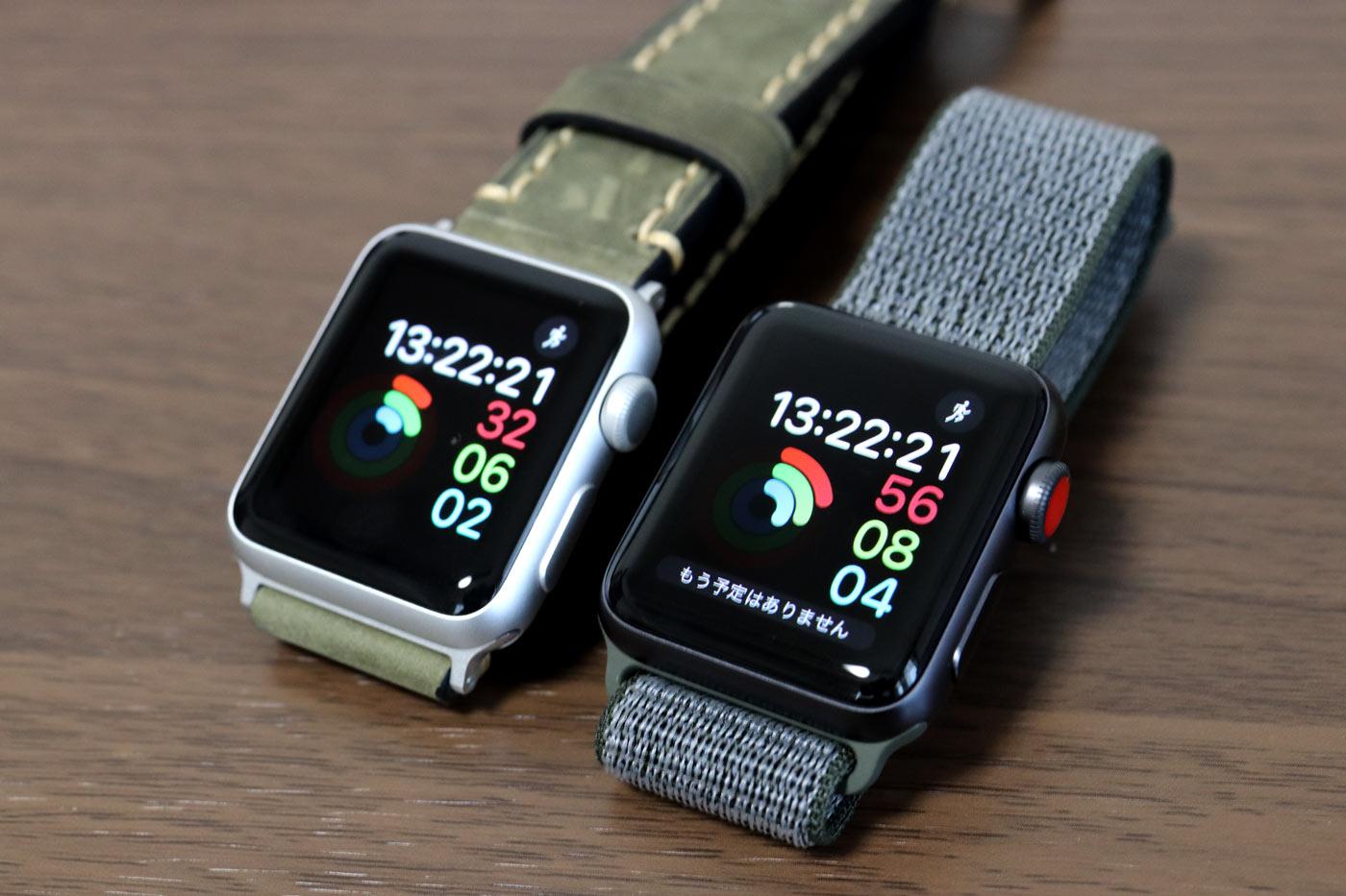 Apple Watch SPORTとApple Watch 3