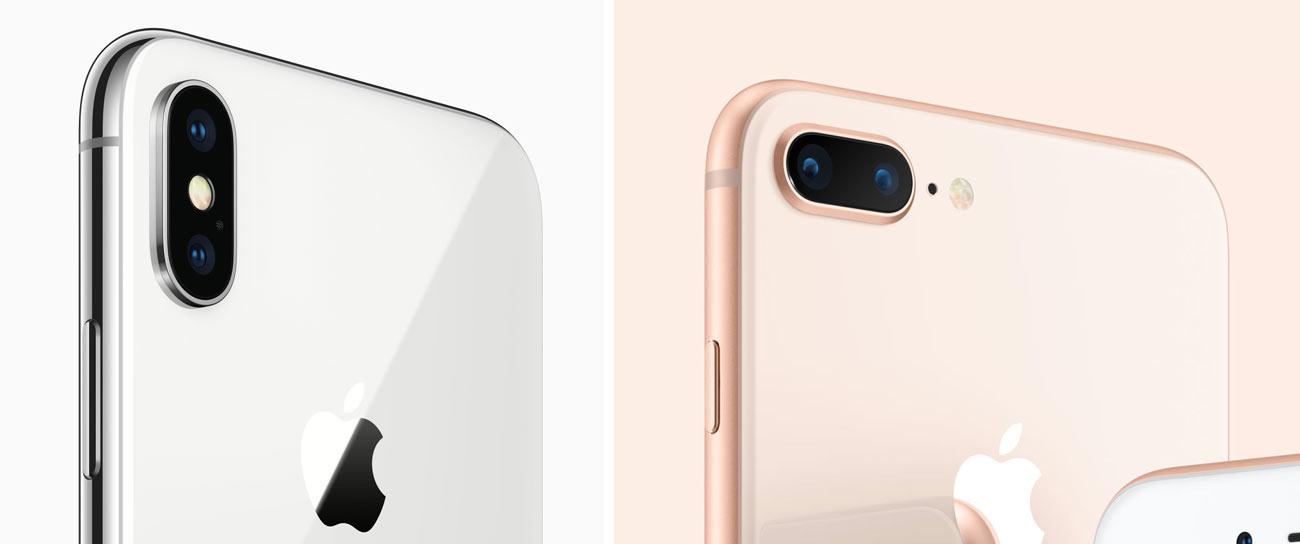 iPhone XとiPhone 8 Plusのカメラ