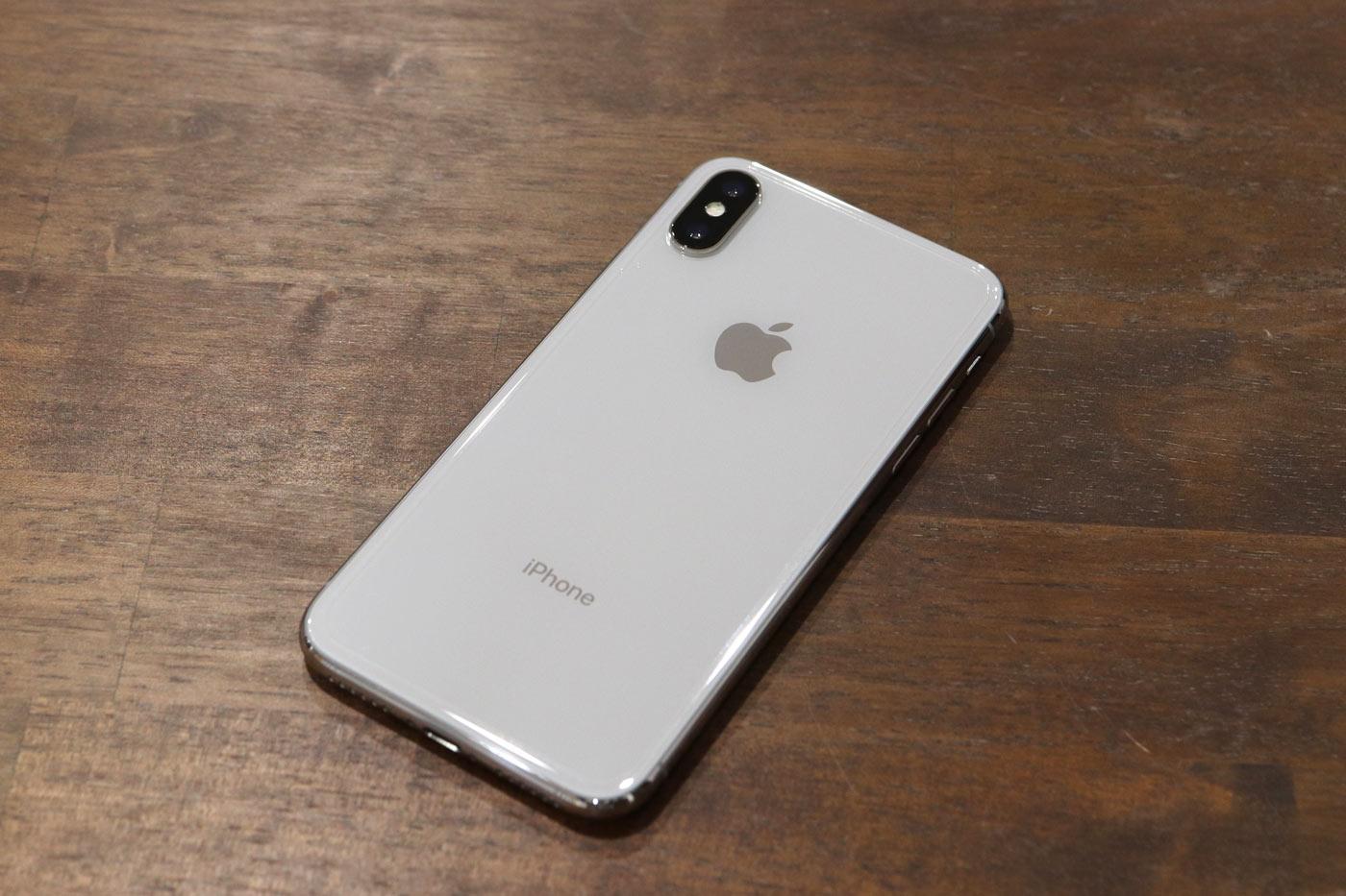 iPhone X 背面パネル