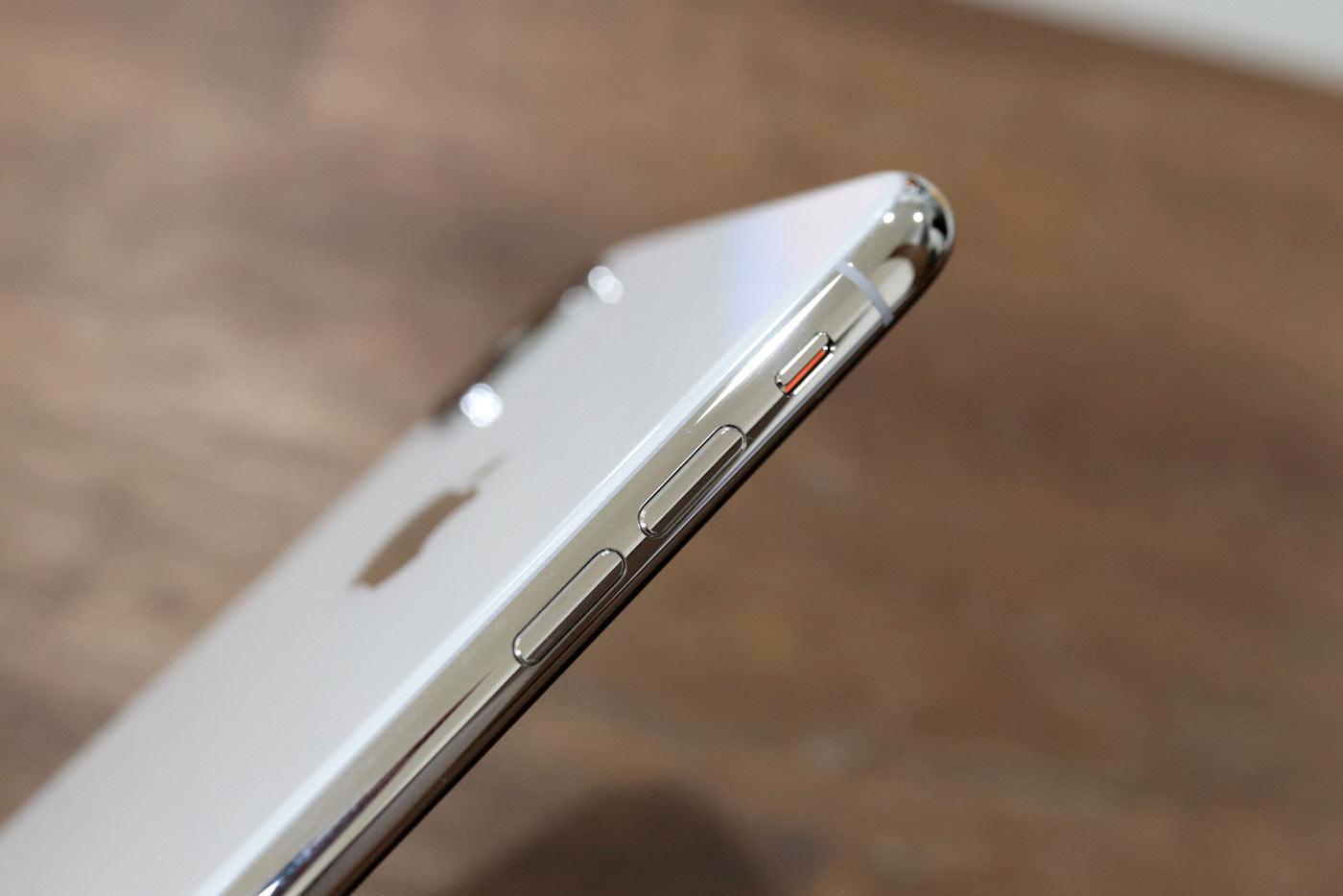 iPhone X ステンレスサイドフレーム