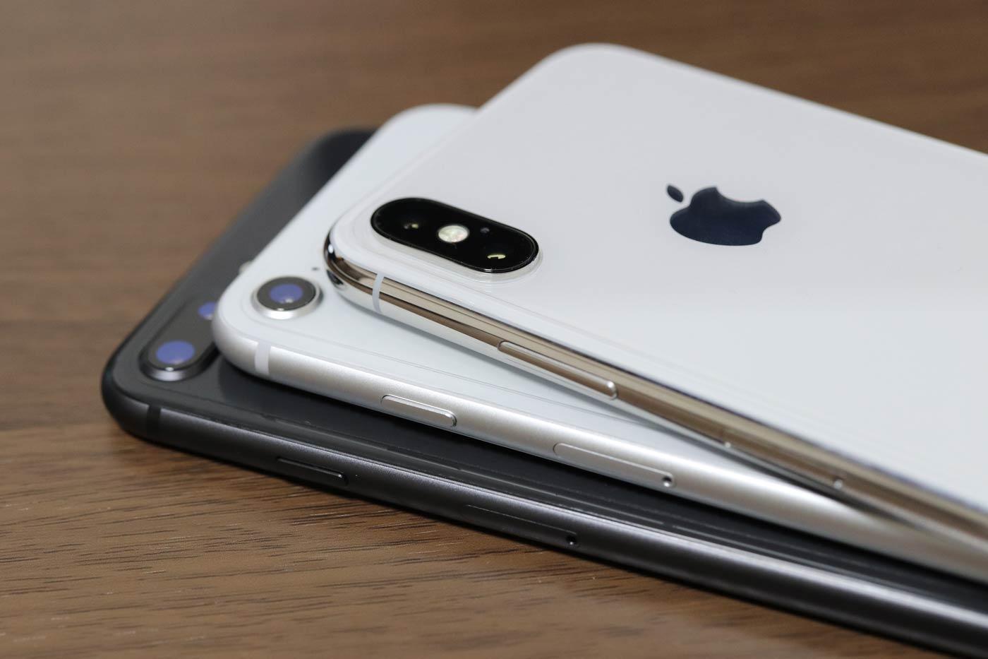 iPhone X 電源(サイド)ボタン