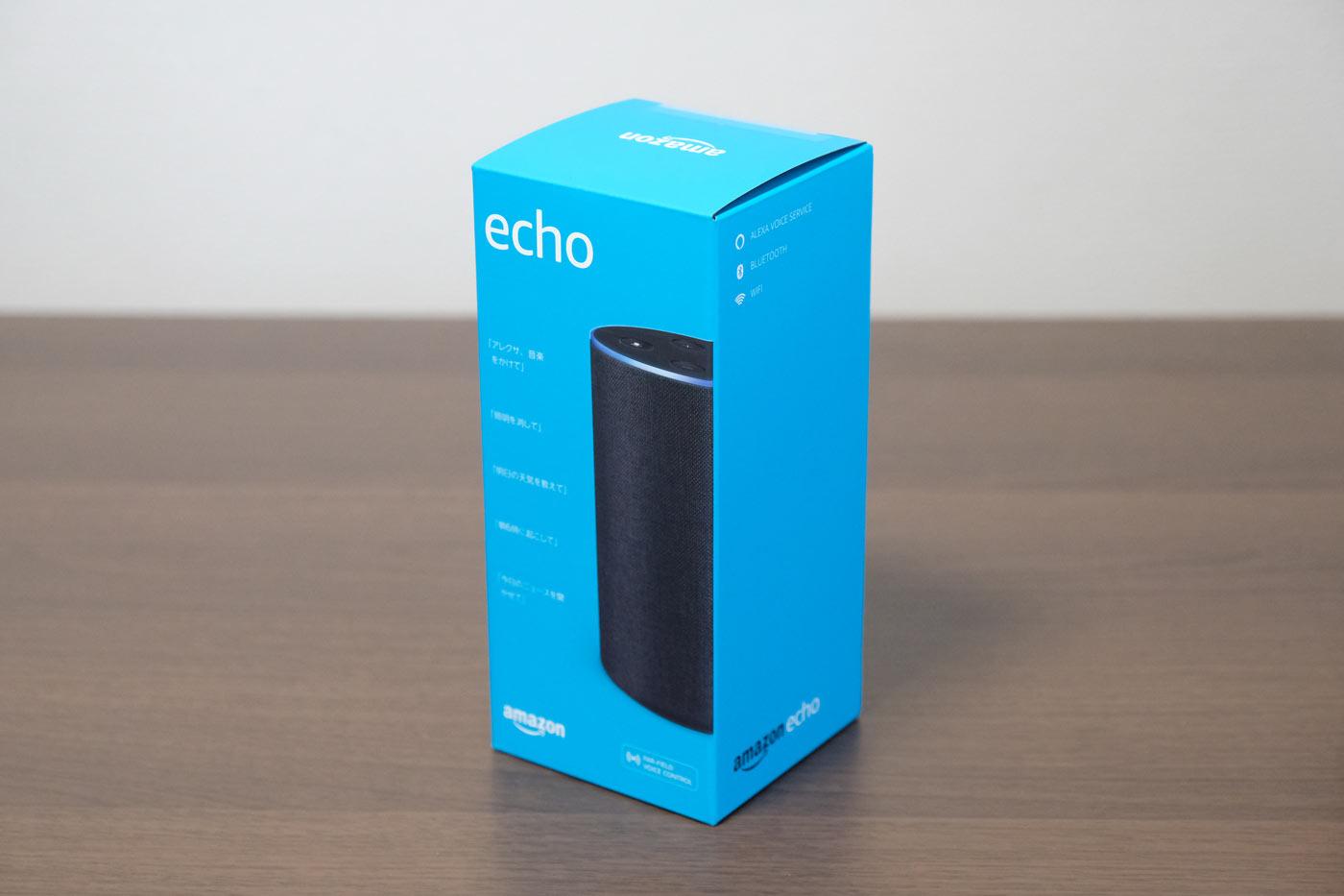 Amazon Echoのパッケージ