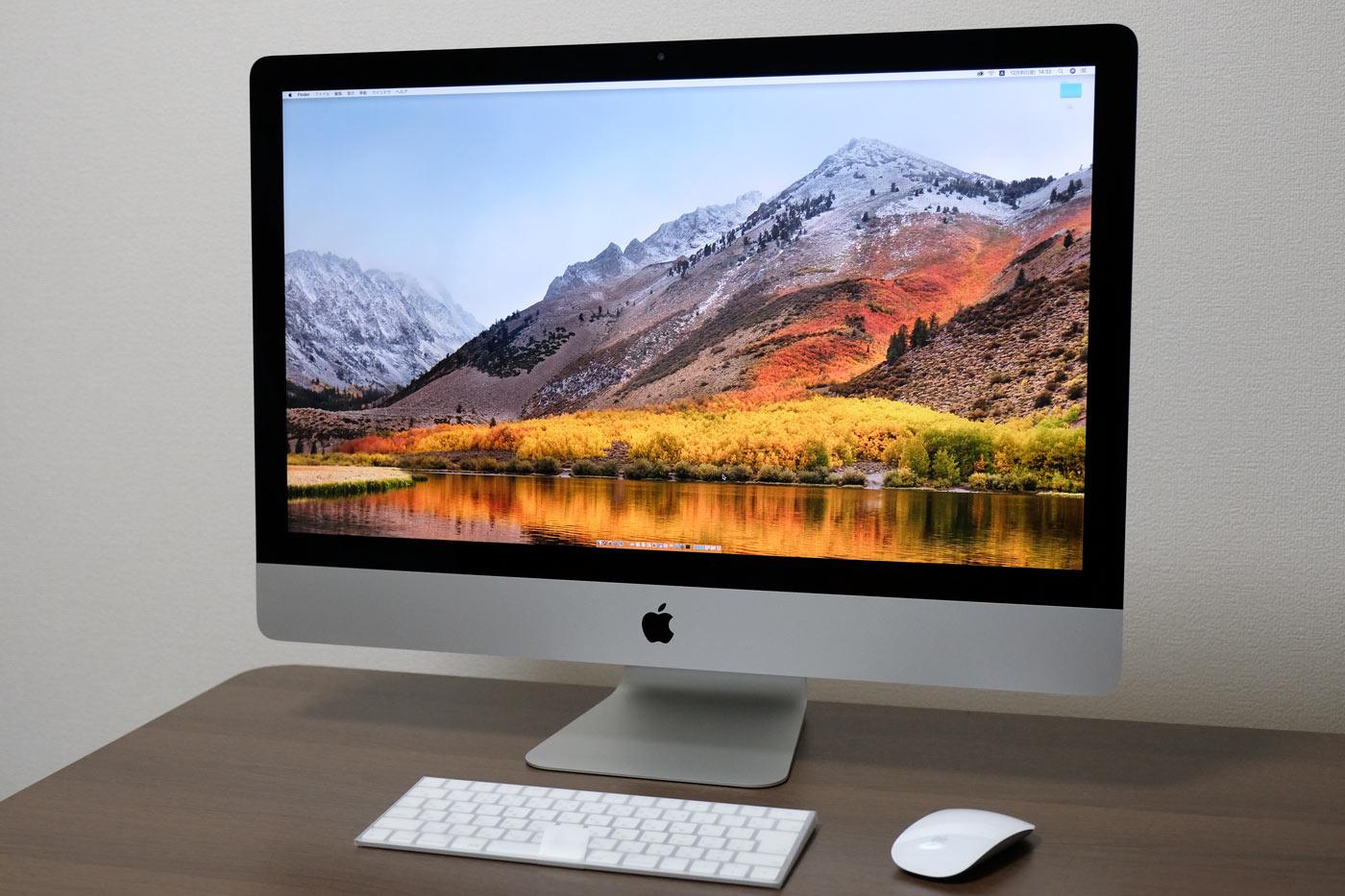 27インチiMac 5K