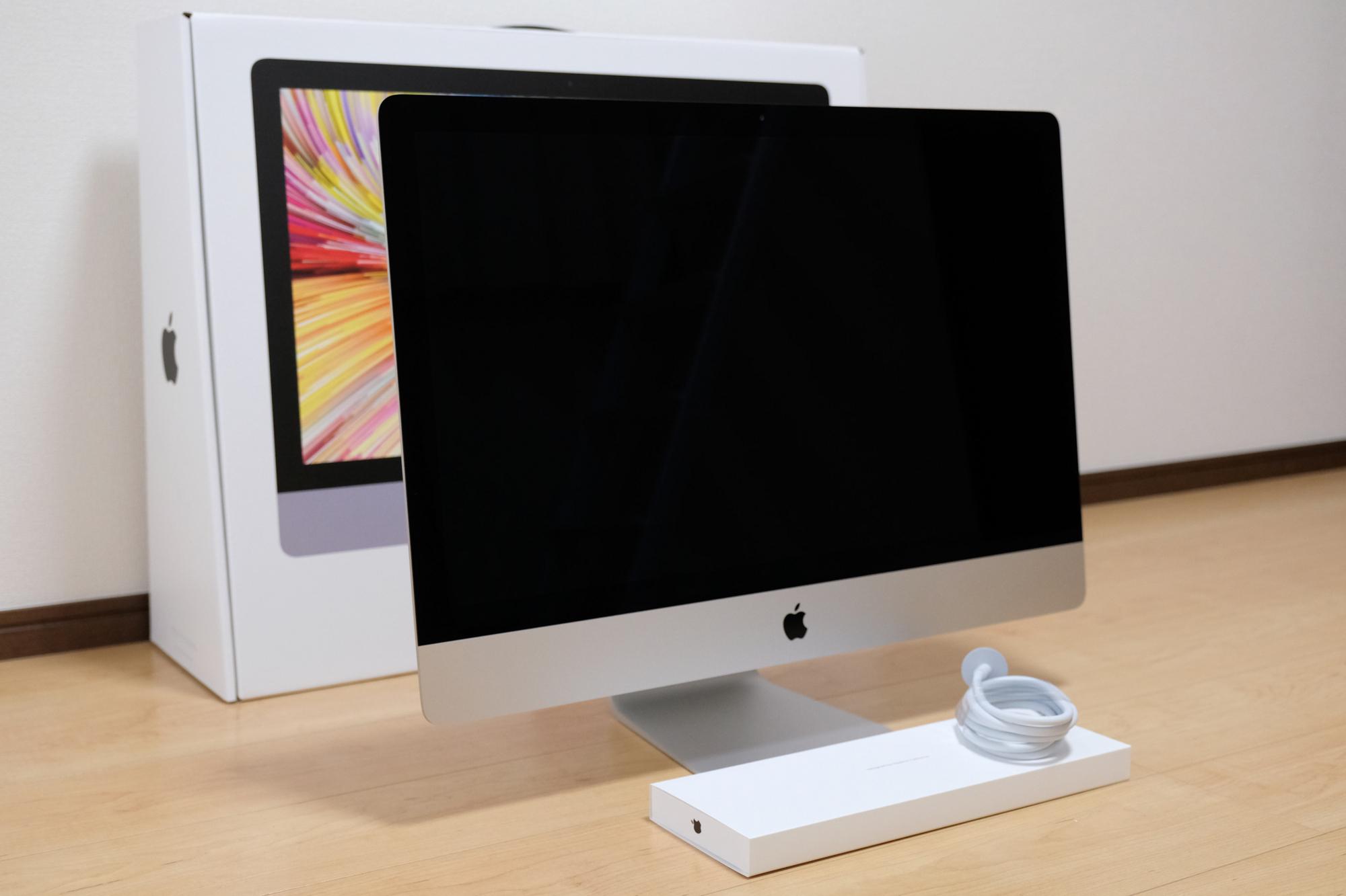 27インチiMac 5K 開封6