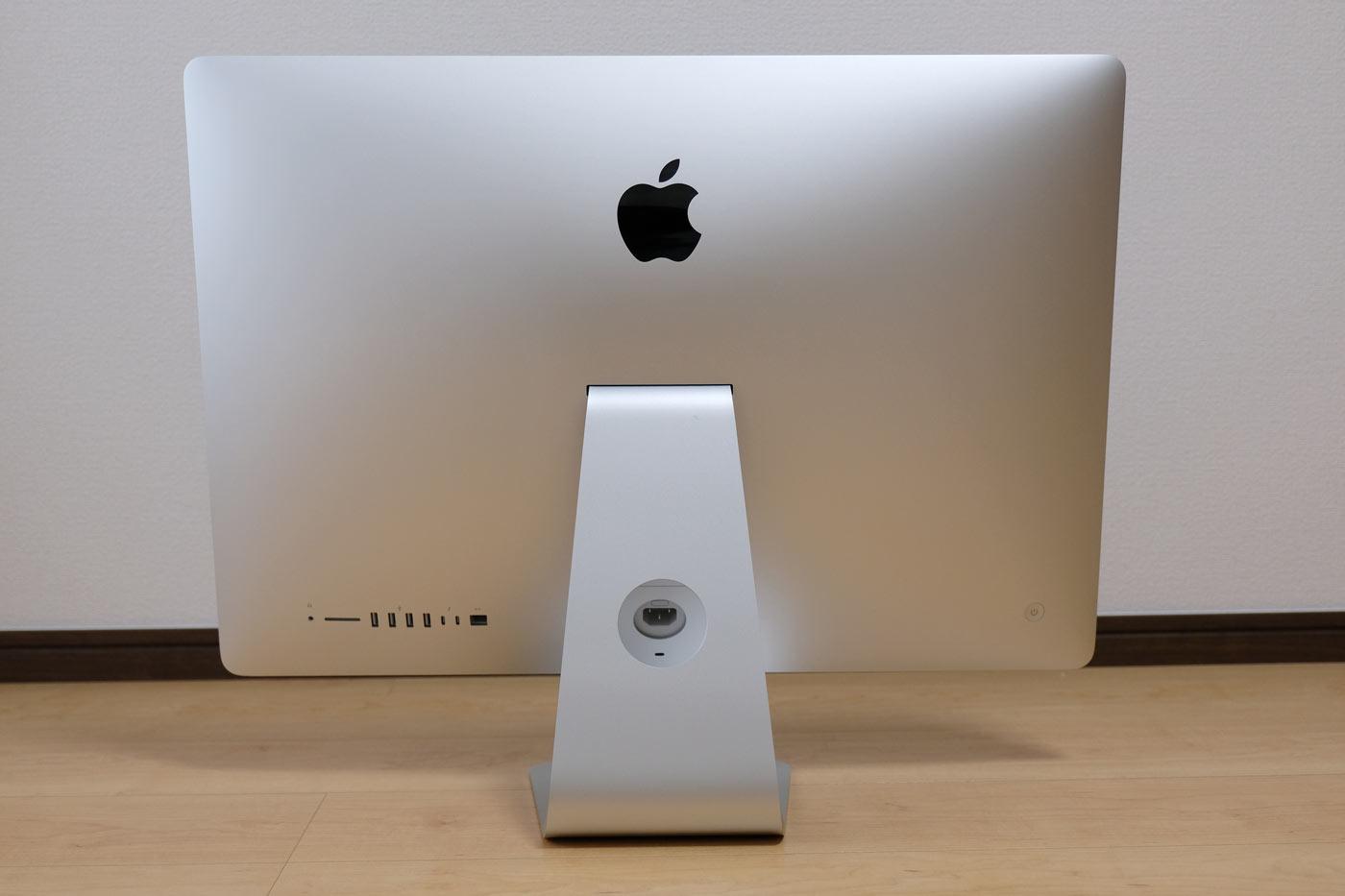 27インチiMac 5K 外観デザイン 背面側