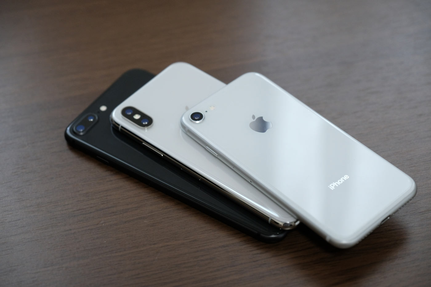 iPhone 8/8 PlusとiPhone X