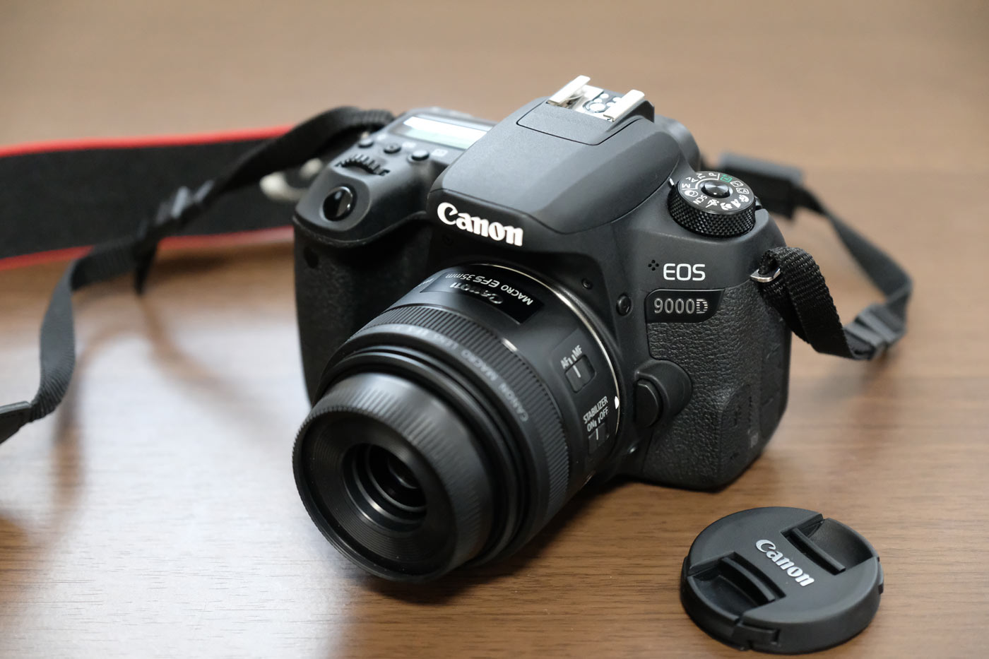 Canon EOS 9000DとEF-S35mm F2.8 マクロ IS STM