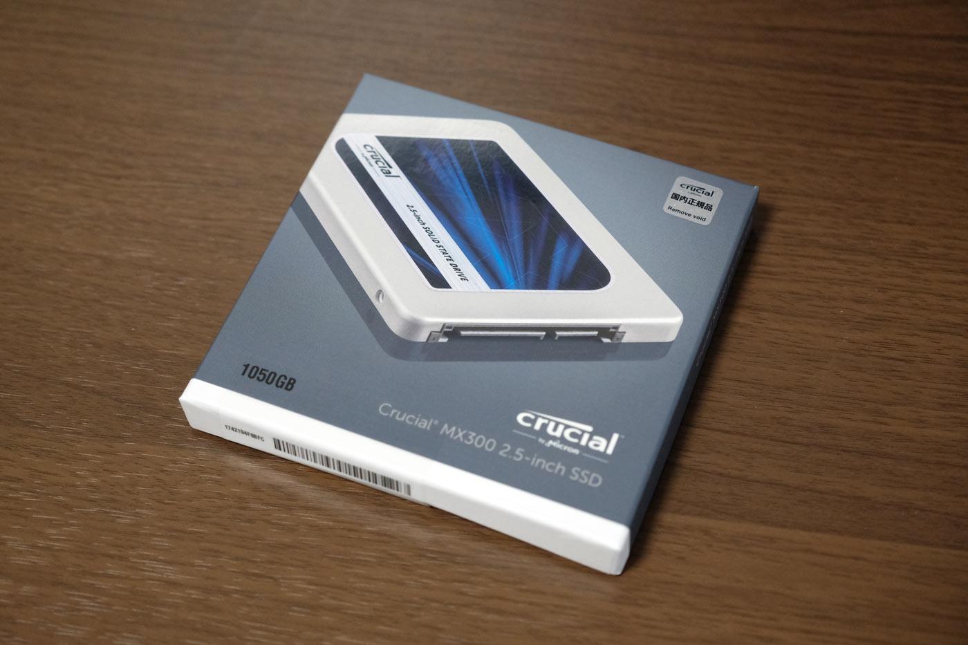 SSD Crucial [Micron製] MX300 1TB