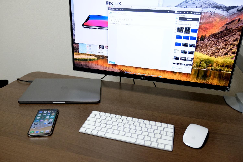 MacBook Pro クラムシェルモード