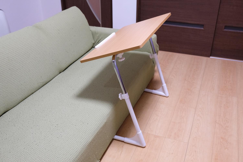 テーブル部分を手前に設置することが可能