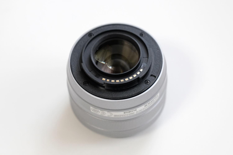 XC15-45mmF3.5-5.6 マウント部分素材