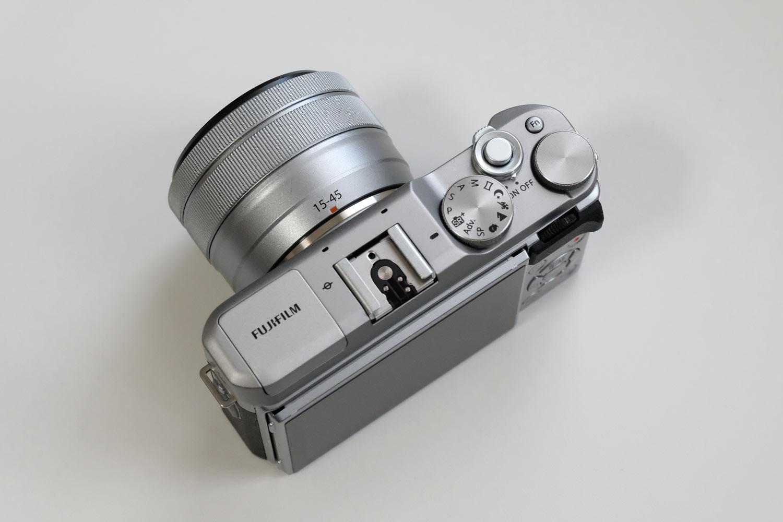 X-A5・XC15-45mmF3.5-5.6 上部デザイン