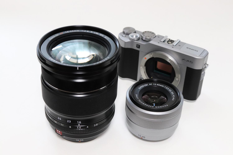 XF16-55mmF2.8 vs XC15-45mmF3.5-5.6