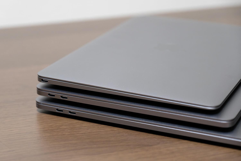 MacBookシリーズ 左サイド ポート比較